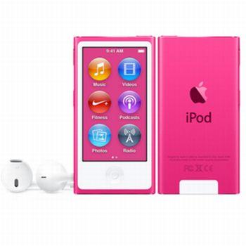 Miglior prezzo lettore mp3 apple ipod nano 16gb pink 8g (MKMV2QG/A) -