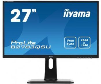 Miglior prezzo monitor led iiyama b2783qsu-b1 27 16:9 1ms 2560 x 1440 (B2783QSU-B1) -