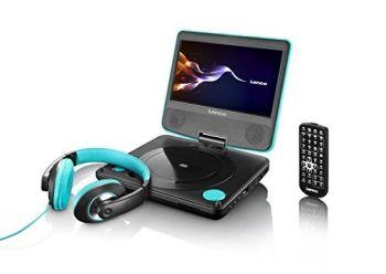 Miglior prezzo lettore dvd portatile lenco dvp-754 lagoon (DVP754LAGOON) -