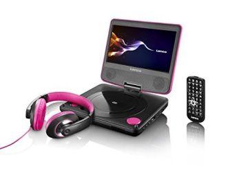 Miglior prezzo lettore dvd portatile lenco dvp-754 pink (DVP754PINK) -
