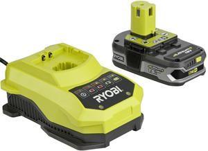 Miglior prezzo accessorio ryobi rbc 18l15 18v li-ion battery + charger (5133001910) -