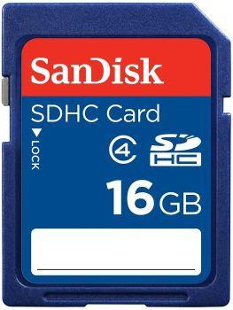 Miglior prezzo scheda memoria sdhc sandisk secure digital 16gb class 4 (SDSDB-016G-B35) -