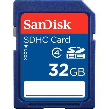 Miglior prezzo scheda memoria sdhc sandisk secure digital 32gb class 4 (SDSDB-032G-B35) -