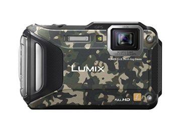 Miglior prezzo FOTOCAMERA DIGITALE PANASONIC LUMIX DMC-FT5 CAMOUFLAGE (DMC-FT5EG9-Z)
