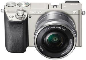 Miglior prezzo fotocamera digitale sony alpha 6000 kit 16-50mm silver (ILCE6000LS.CEC) -